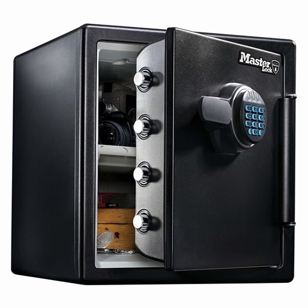 master lock lfw123ftc fire and water proof safe - Fire Proof Safe