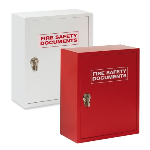Metal Storage Cabinet With Hasp Lock For Fire Safety Documents