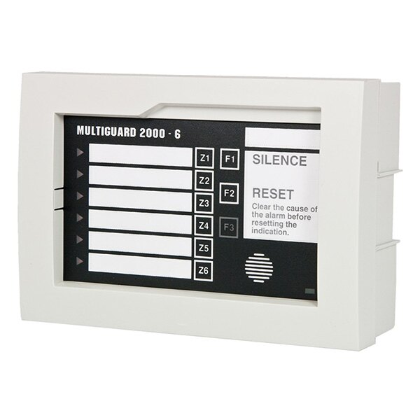 Multiguard 6 Way Indicator with Individual Silence and Reset