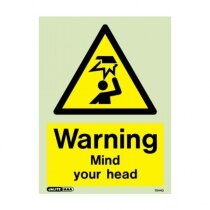 Image of the Warning Mind Your Head sign