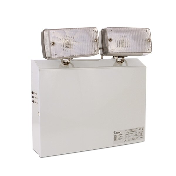 Economy emergency twinspots with LED lamps