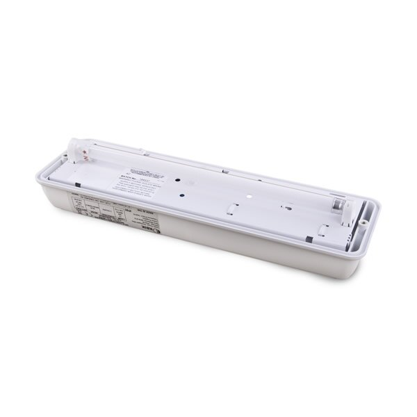 8W Emergency Lighting Bulkhead with Self-Test - Arc AR8