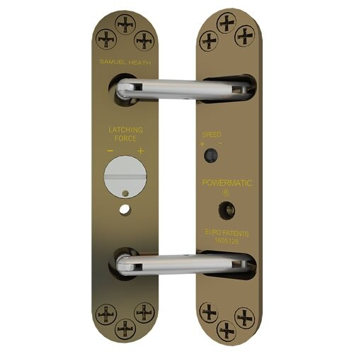 Perko Powermatic Concealed Fire Door Closer. Choose Colour: - Perko Powermatic Concealed Fire Door Closer