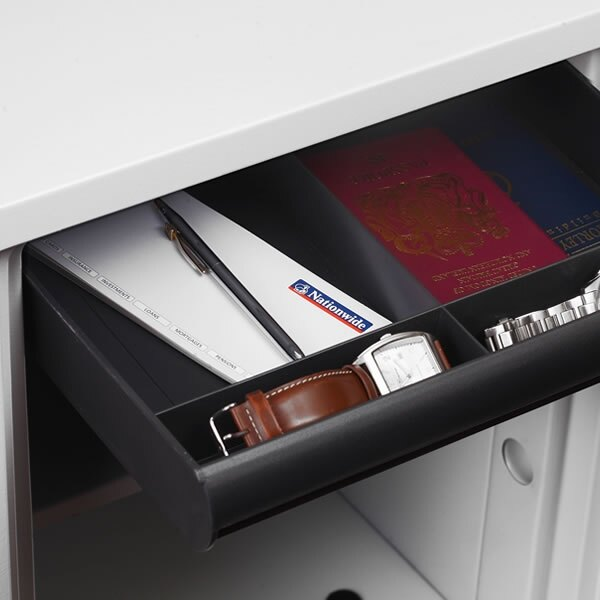 The Phoenix Titan 1282 safe features a pull out drawer