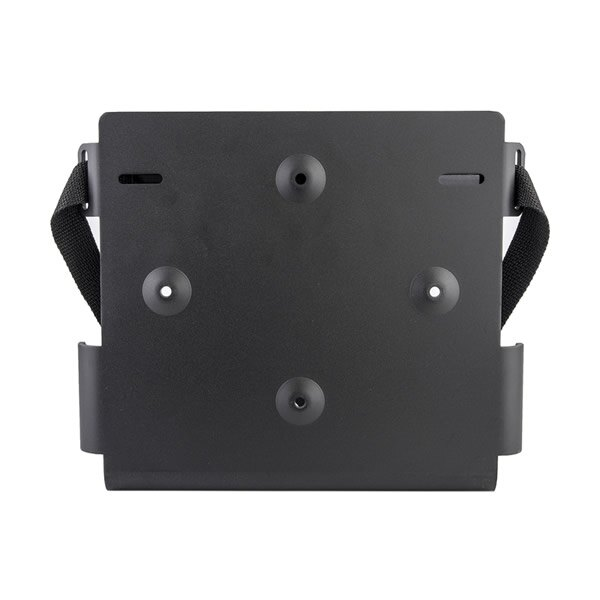 Bracket for defibrillator wall mounting