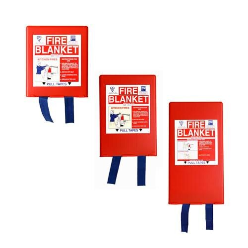 British standard fire blankets manufactured in the UK to the highest standards
