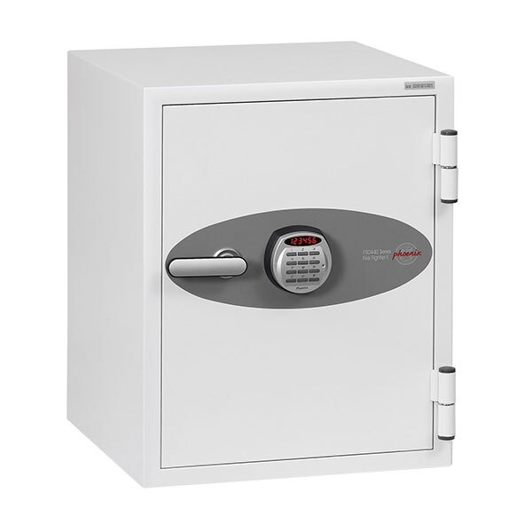 High security electronic lock with clear LED display