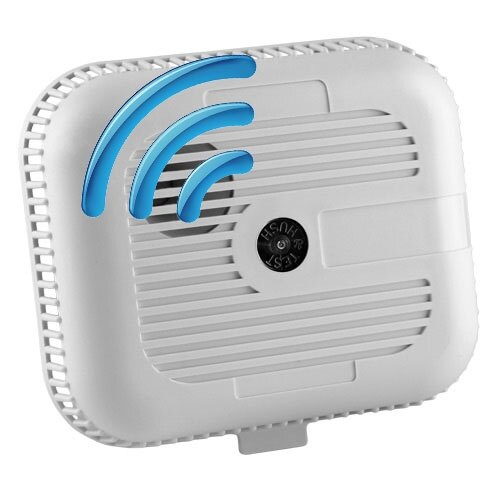 Radio-Interlinked Battery Powered Optical Smoke Alarm - Ei3105RF