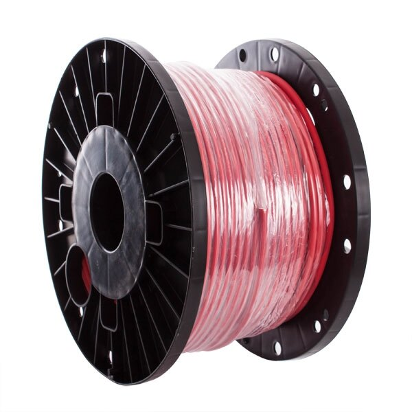 Red Fire Rated Cable - No Burn Platinum 2 Core and Earth