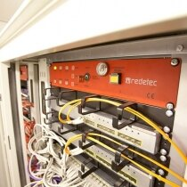 Image of the Redetec FM200 Rack Mounted Automatic Fire Suppression Unit