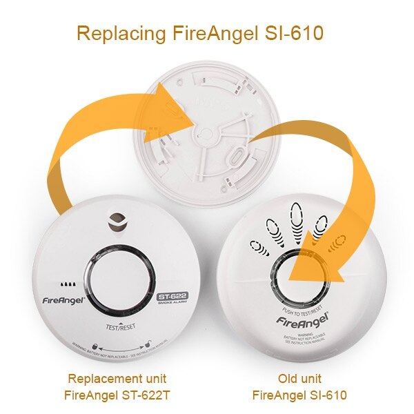 replacement for fireangel si 610 10 year smoke alarm. Black Bedroom Furniture Sets. Home Design Ideas