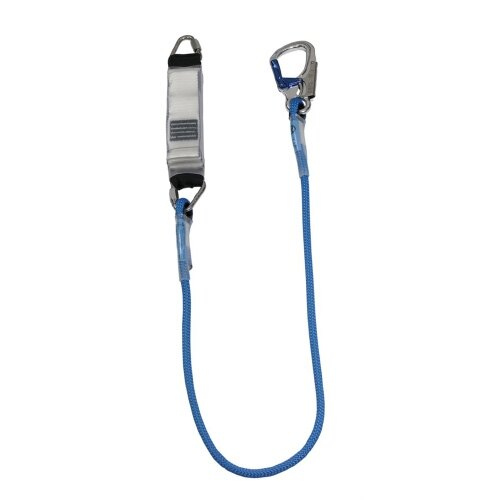 Rope Lanyard - Triangular Link and Small Double Action Hook