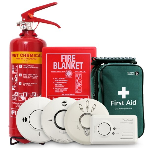Safelincs home fire safety kit ex vat for Fire safety house