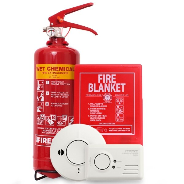 Safelincs Kitchen Fire Safety Kit - £60.99 ex VAT
