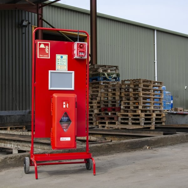 UltraFire Single Cabinet Site Stand with Optional RF Site Alarm
