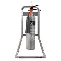 Image of the Single Chrome Extinguisher Stand - Ultrafire