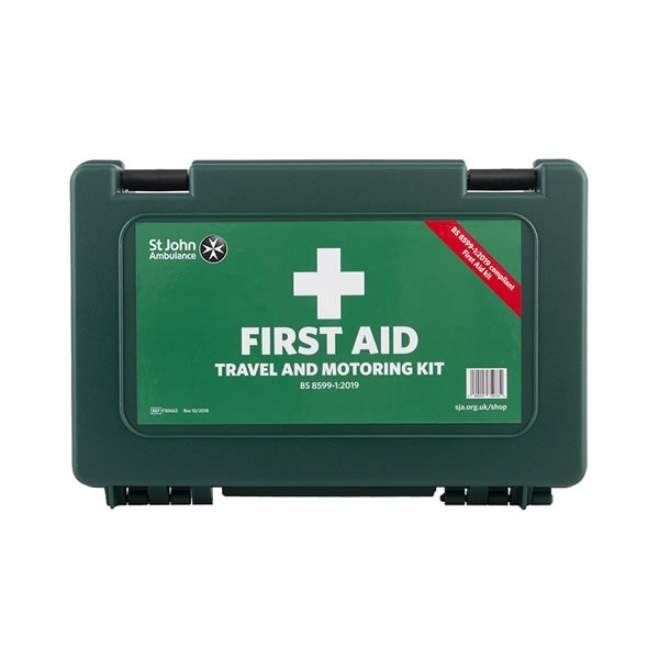 St John Ambulance BS 8599-1 Compliant Travel and Motoring First Aid Kits