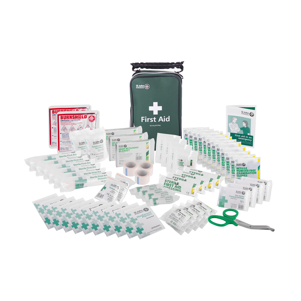St John Ambulance BS 8599-1 Compliant Zenith First Aid Kits