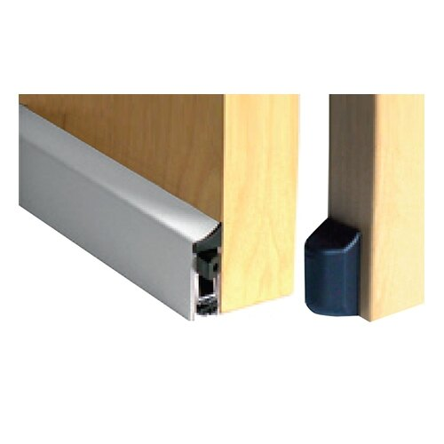 Surface mounted drop down smoke seal Surface mounted drop down smoke seal fitted to door ...  sc 1 st  Safelincs : drop door - pezcame.com