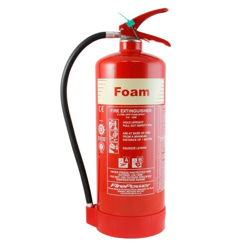 9ltr Foam Cartridge Operated Extinguisher Thomas Glover