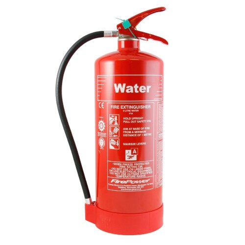 9ltr Water Cartridge Operated Fire Extinguisher - Thomas Glover