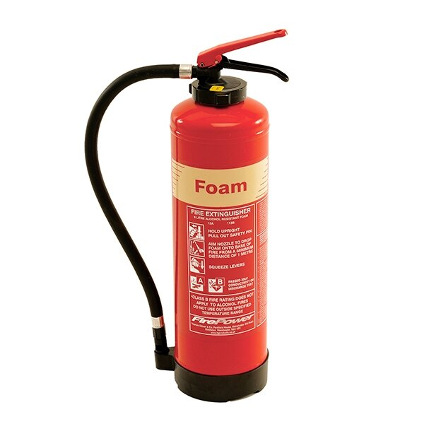 6ltr Alcohol Resistant Foam Fire Extinguisher - Thomas Glover