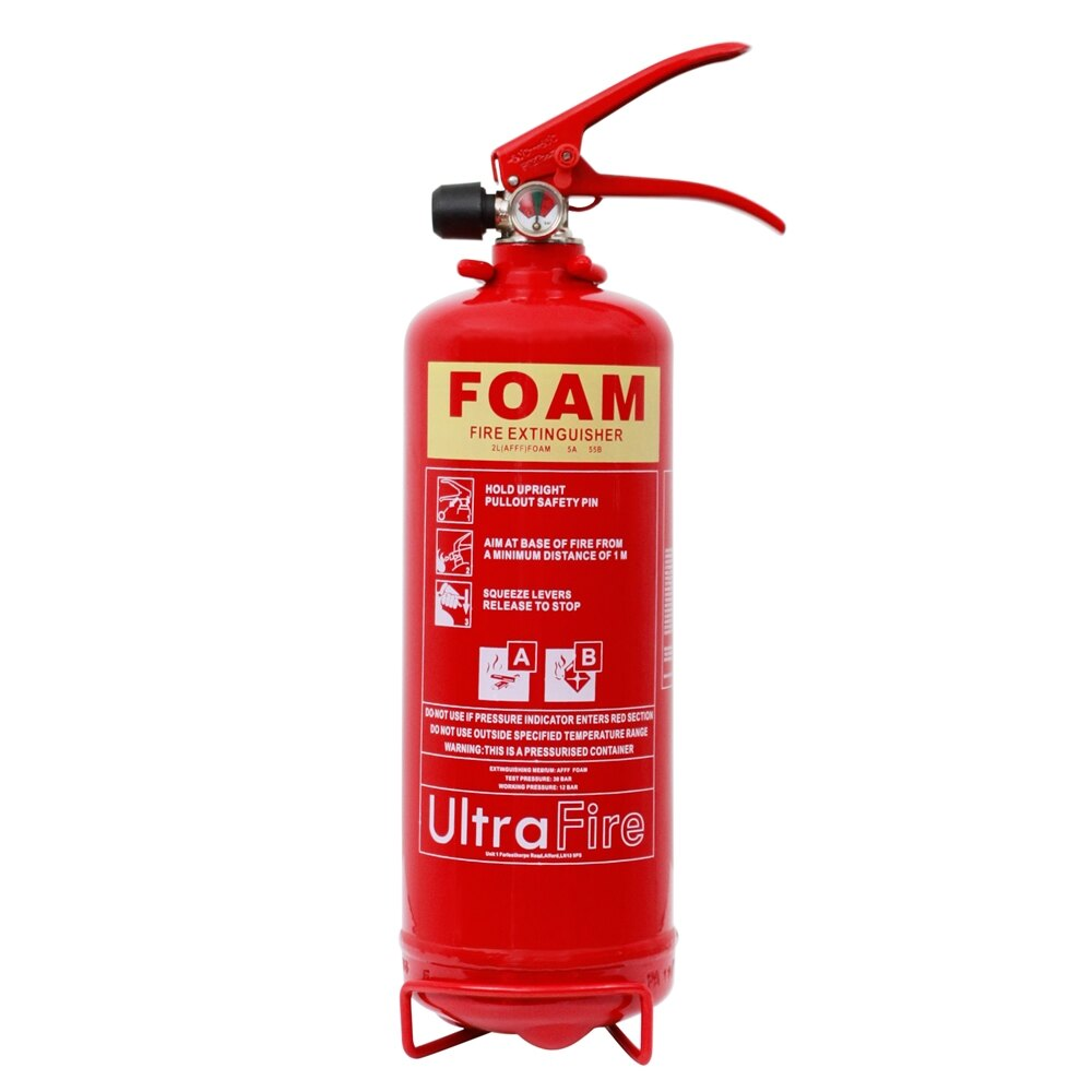 ultrafire 2ltr foam electrically safe fire extinguishers  at nearapp.co