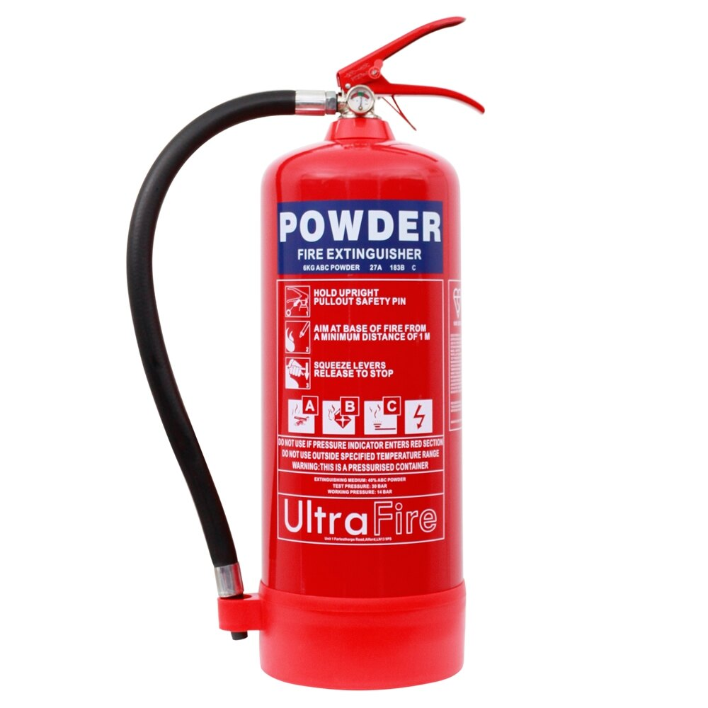 6kg Powder Fire Extinguisher Ultrafire