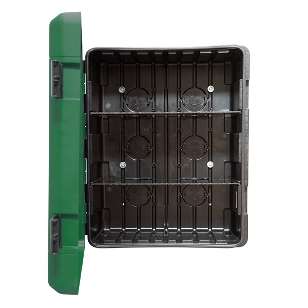 UltraFire Green Weatherproof First Aid Kit Cabinet - Large