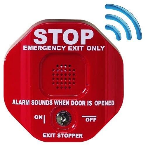 Wireless Exit Stopper Door Alarm with Transmitter
