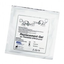 Image of the Zoll AED Plus Trainer Replacement Gel Pads - 5 pairs