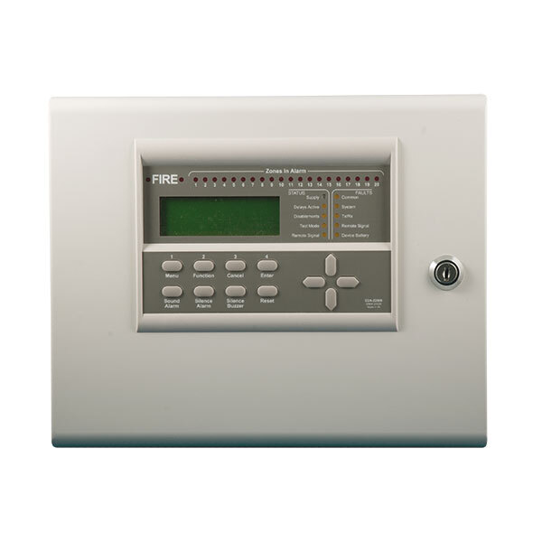 Image of the Zerio Plus 20-Zone Wireless Control Panel