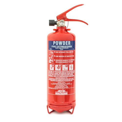 Image of the 2kg Powder Fire Extinguisher - Jewel Saffire