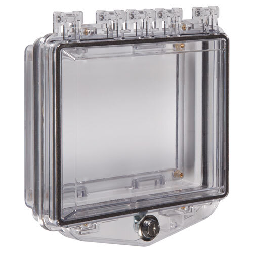 Image of the Deep Polycarbonate Protective Cover for Flush Mounted Panels
