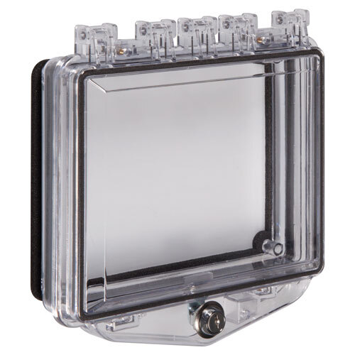 Image of the Shallow Polycarbonate Protective Cover for Flush Mounted Panels