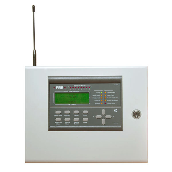 Image of the Zerio Plus 8-Zone Wireless Control Panel