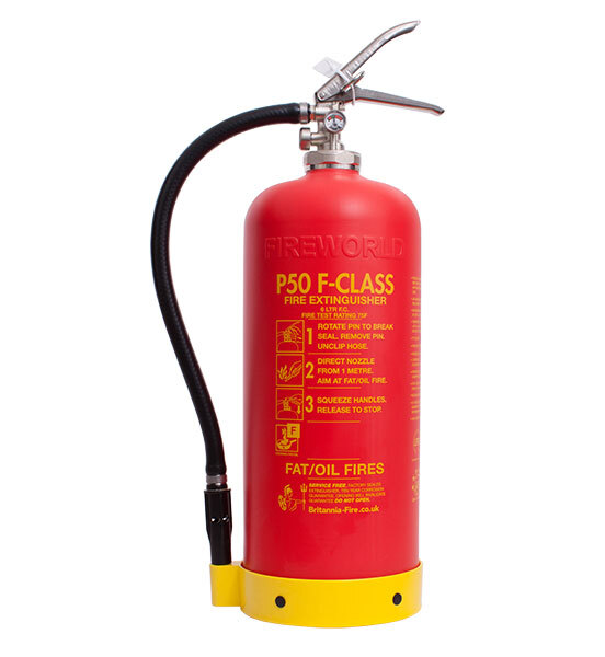 Image of the Service Free 6ltr Wet Chemical Fire Extinguisher - Britannia P50