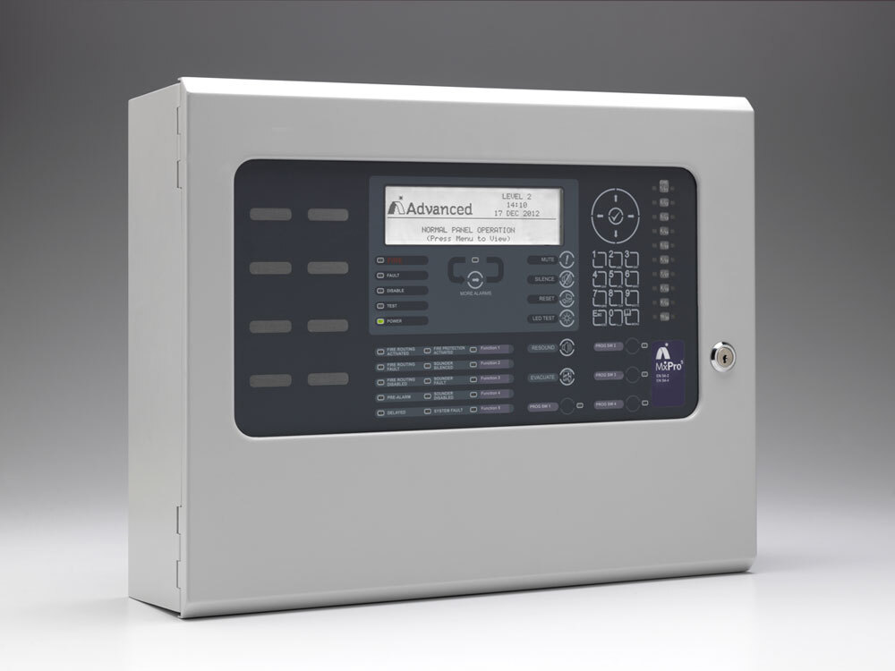 Image of the Advanced MxPro 5 MX-5201 Addressable 1 - 2 Loop Panel