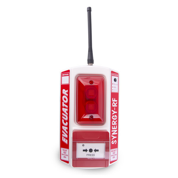Image of the Evacuator Synergy RF Call Point Site Alarm