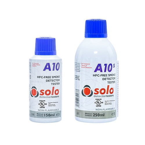 Image of the Solo A10 & A10S Smoke Detector Test Aerosols