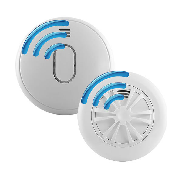 Image of the Radio-Interlinked Battery Powered Smoke & Heat Alarms - UltraFire UB1RF Series