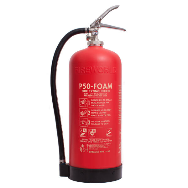Image of the Service-Free 9ltr Foam Fire Extinguisher - Britannia P50