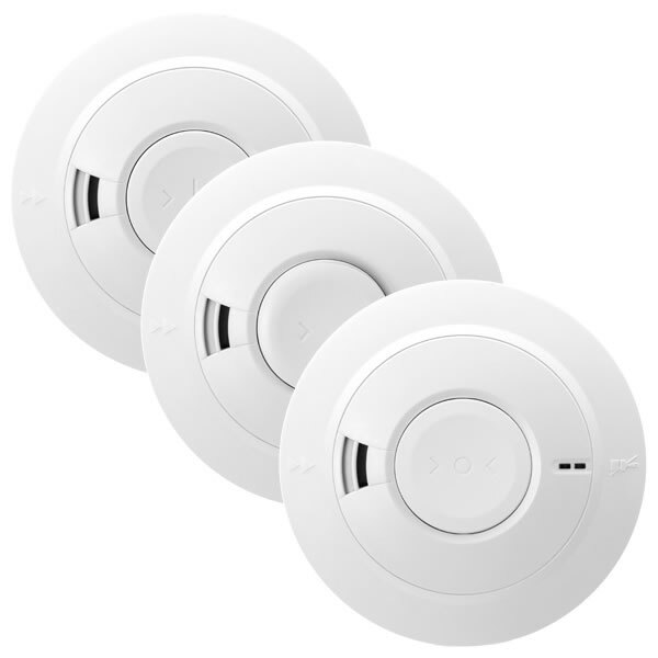 Image of the Aico Mains Powered Smoke Alarms with Lithium Back-up Battery Ei160e Series