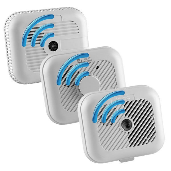 Image of the 9V Radio-Interlinked Smoke and Heat Alarms - Ei3100RF Series
