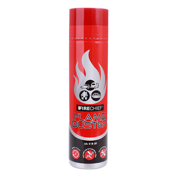 Image of the 600ml Flamebuster ABF Foam Aerosol Fire Extinguisher - Firechief