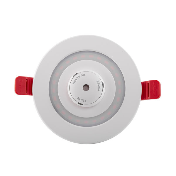 Image of the LED Recessed Emergency Downlight with Carbon Monoxide Alarm - Lumi-Plugin