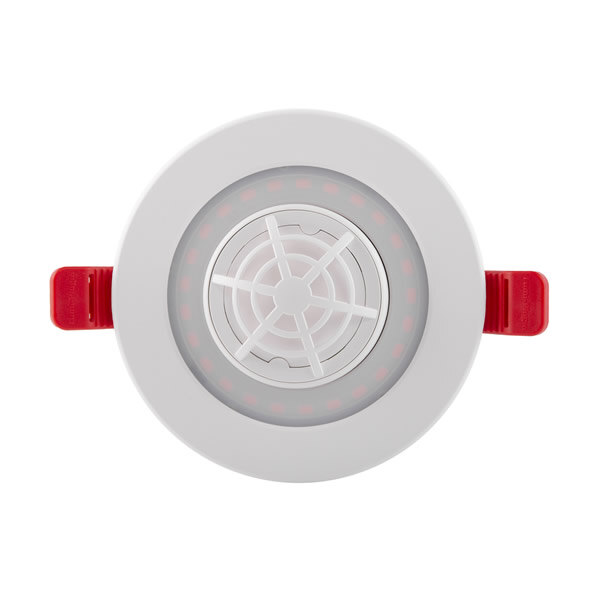 Image of the LED Recessed Emergency Downlight with Heat Alarm - Lumi‑Plugin