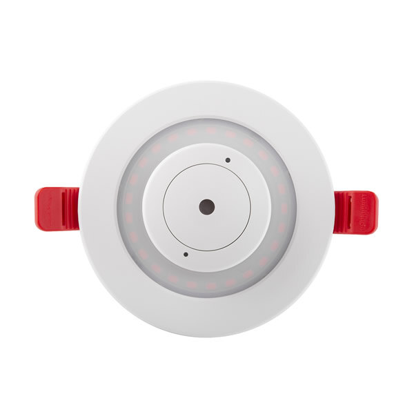Image of the LED Recessed Emergency Downlight with Smoke Alarm - Lumi‑Plugin