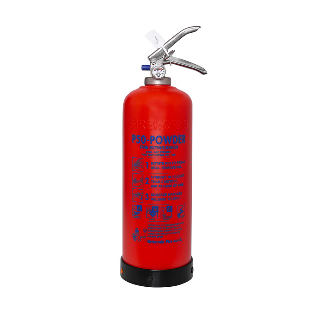 Image of the Service-Free 2kg Powder Fire Extinguisher - Britannia P50