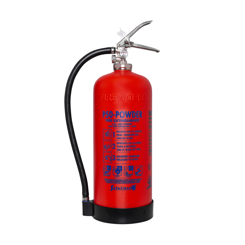 Image of the Service-Free 6kg Powder Fire Extinguisher - Britannia P50